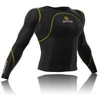 Компресійна кофта Skins Long Sleeve чорний (long-sleeve-bl) - M