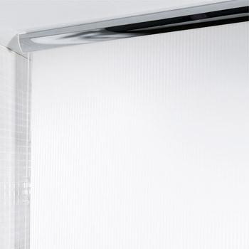 Шторка д/ванной ROLO TWILL pvc 140х240 белая