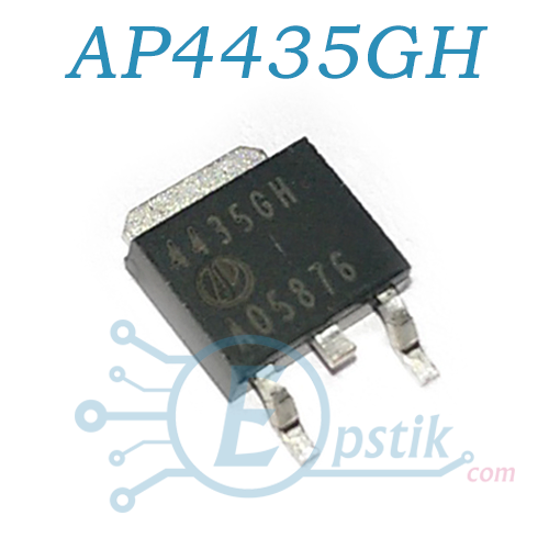 AP4435GH, (4435GH), MOSFET транзистор, P-калал, 30V 40A, TO252