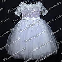Детское платье бальное Королевское-1 (сиреневое) Возраст 10-12лет., фото 1