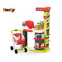 Оригинал. Smoby Интерактивный супермаркет с коляской 350211