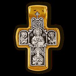 Господь Вседержитель. Деісус. Вмч. Пантелеймон Цілитель. Ісусова молитва. Православний хрест.