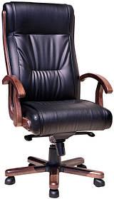 Кресло Честер Extra LE-A (кожа черная)