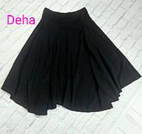 Юбка теплая черная Deha