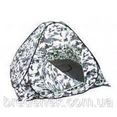 Палатка для зимней рыбалки 2*2 белый комуфляж