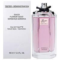 Gucci Flora by Gucci Gorgeous Gardenia туалетная вода 100 ml. (Тестер Гуччи Флора Бай Гуччи Горгеоус Гардения), фото 1