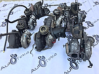 Турбина 4.0cdi правая Mercedes s-class w220 A6280960599