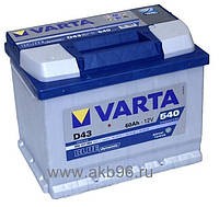 Аккумулятор VARTA 60Ач  BLUE DYNAMIC D43  540 A  242/175/190