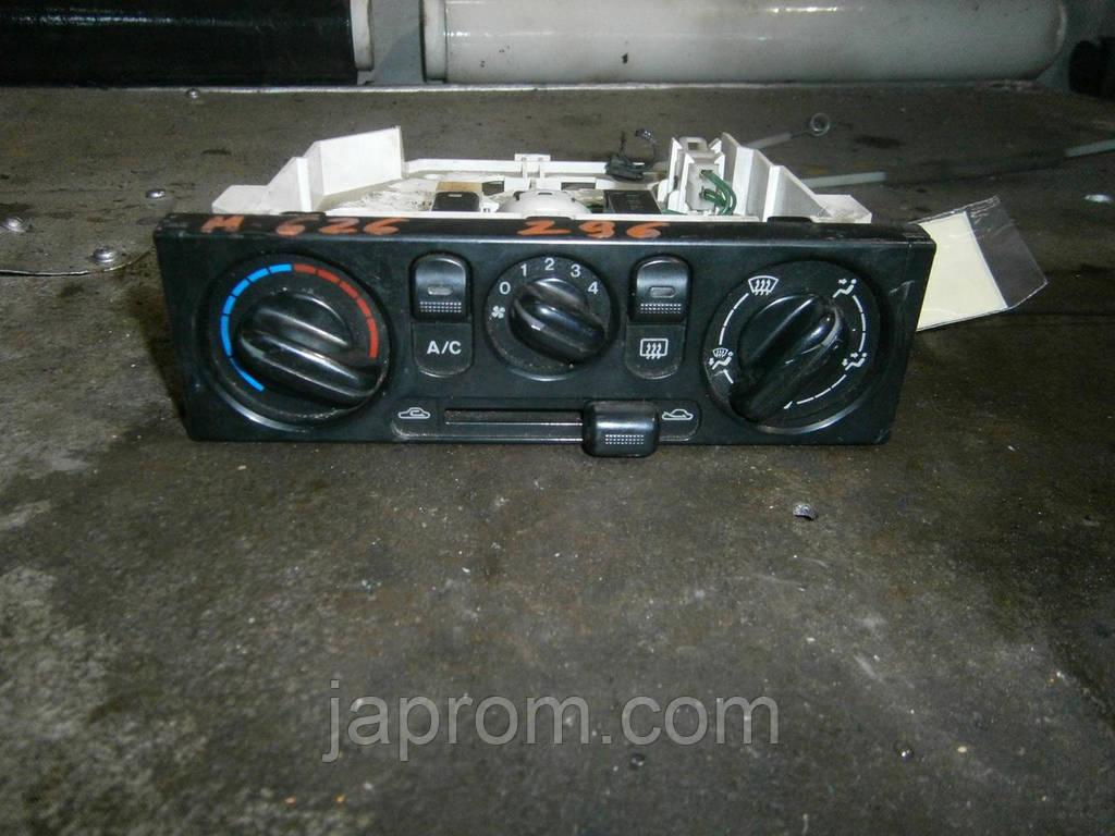Блок управления печкой (отопителем) кондиционером Mazda 626 GF