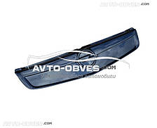 Зимняя накладка на решетку Opel Vivaro 2006-2014 верхняя часть глянец