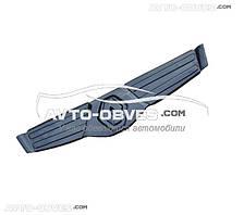 Зимняя накладка на решетку Рено Трафик 2006-2014 глянец
