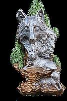 Волк 37 см. Скульптура, статуэтка для декора