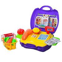 Набор игровой в чемодане доктор, магазин, косметика, 3 вида