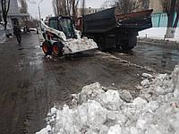 Убрать снег, расчистка территорий от снега