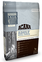 Корм Acana (Акана) Heritage Adult Small Breed для взрослых собак мелких пород 6 кг