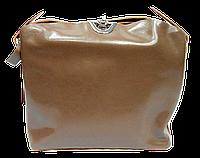 Сумка женская из натуральной кожи цвета хаки на плечо FWG-360068