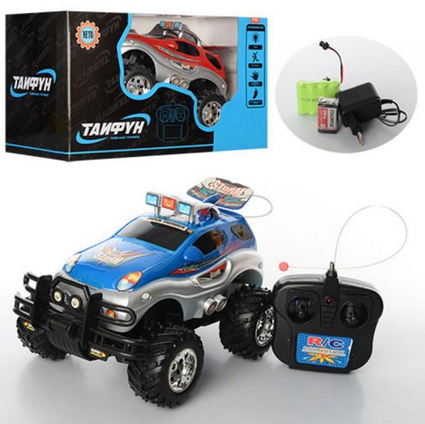 Машина-джип на аккумуляторах, радиоуправляемая.Детская машинка на управлении.Детская игрушка машинка.