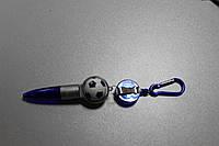 Ручка шариковая с карабином, фото 1