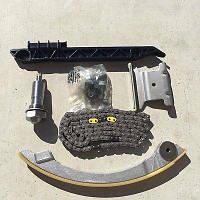 Цепь ГРМ (комплект (набор) для замены цепи ГРМ (цепь + натяжитель + успокоители + болты) GM 0636260 12635447, фото 1