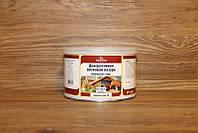 Масло-воск, темный орех, 63, Holzwachs Lasur, 0.375 litre, Borma Wachs
