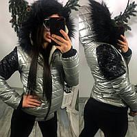 "Зимняя курточка  ""Leylaa"""