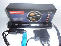Очень мощный электрошокер фонарь ОСА 1102 PRO(Усиленный). Шокер для самообороны (от