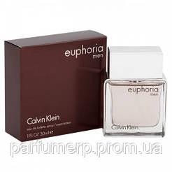 Calvin Klein Euphoria Men (30мл), Мужская Туалетная вода  - Оригинал!