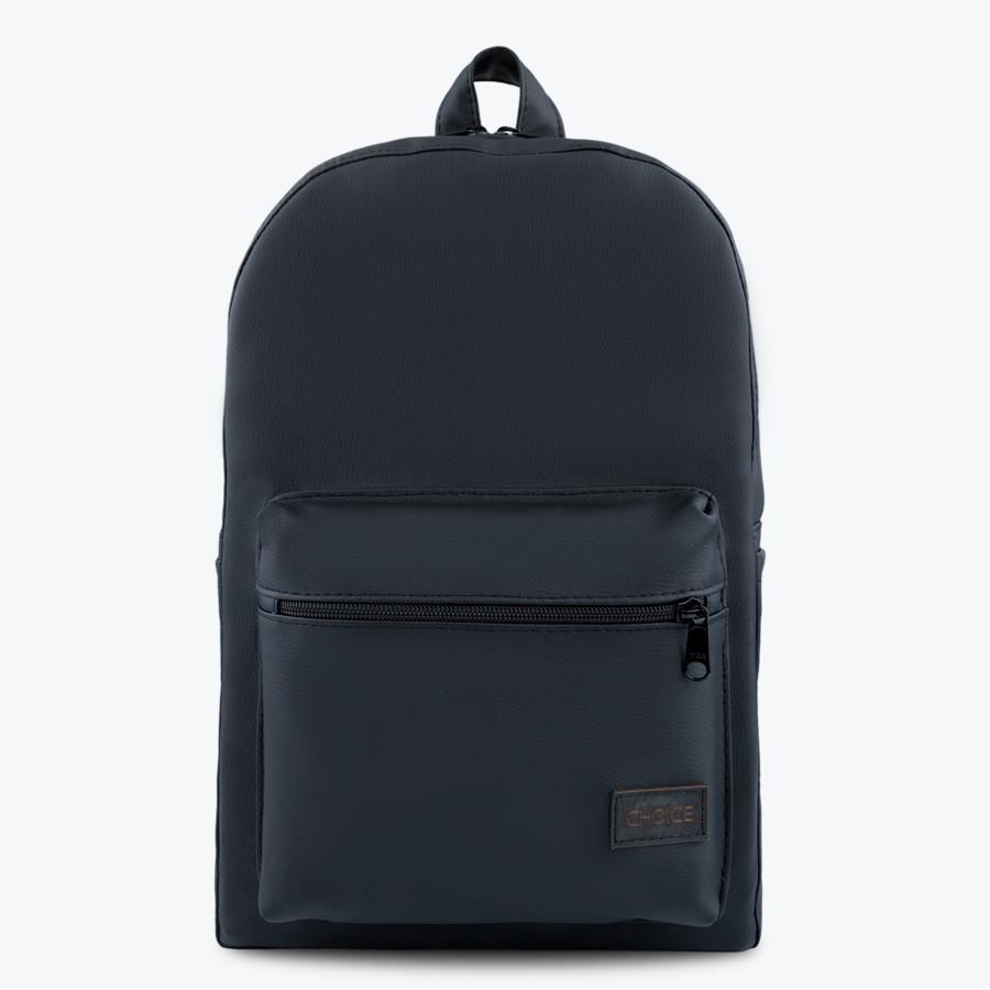 Шкіряний рюкзак CHOICE Milano для ноутбука 37х25х11 см. і 42х29х13 см. штучна шкіра
