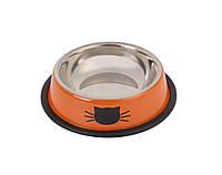 Миска для котов с резинкой 14см, 0,25л;