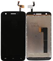 ✅Дисплей Doogee F3  с сенсором (тачскрином) черный