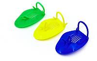 Лопатки для плавания гребные  (пластик, резина, PVC чехол, синие, желтые, зеленые), фото 1