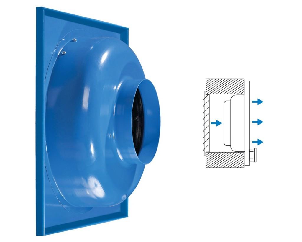 Канальный центробежный вентилятор ВЕНТС ВЦС-ПК 200
