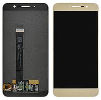 ✅Дисплей ZTE Blade A910 с сенсором (тачскрином) золотой