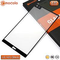 Защитное стекло Mocolo LG V20 Full cover (Black), фото 1