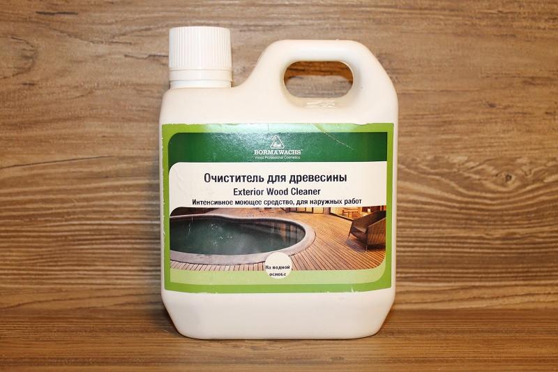 Очиститель для древесины, Exterrior Wood Cleaner
