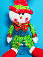 Мягкая Игрушка Колба для Конфет для Атмосферы Нового Года и Рождества