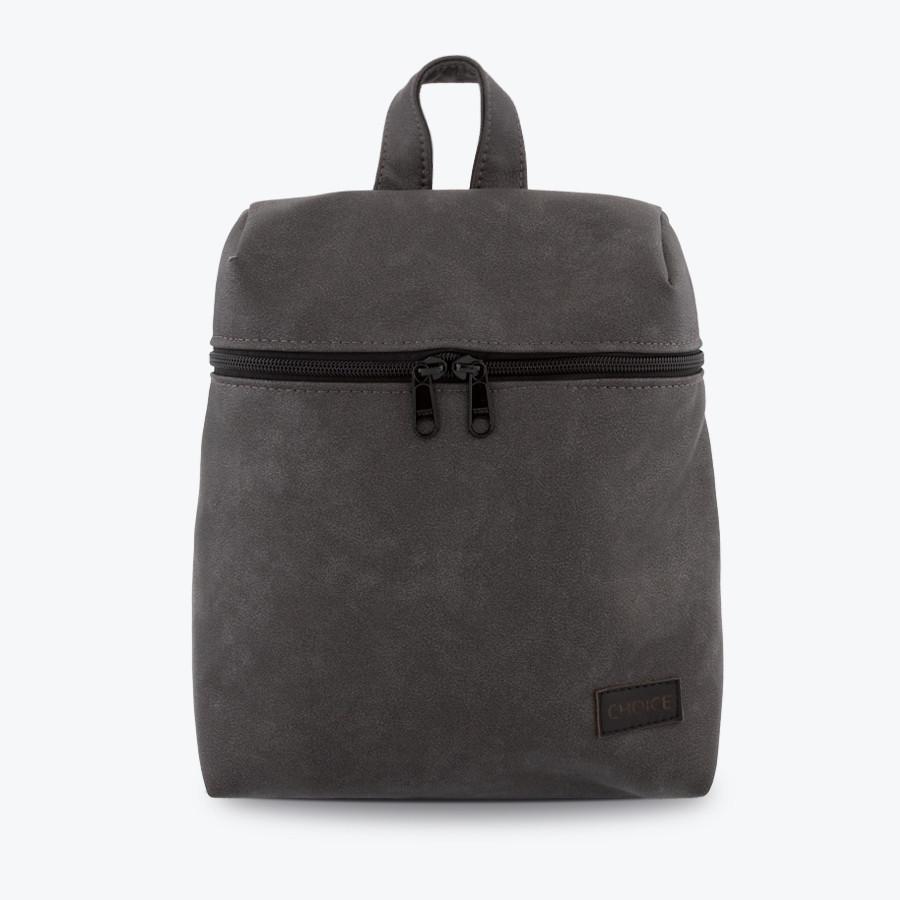 Жіночий рюкзак CHOICE Sophia Graphite сірий 28х24х11 см. і 34х25х12 см. штучна шкіра 2 роки гарантія