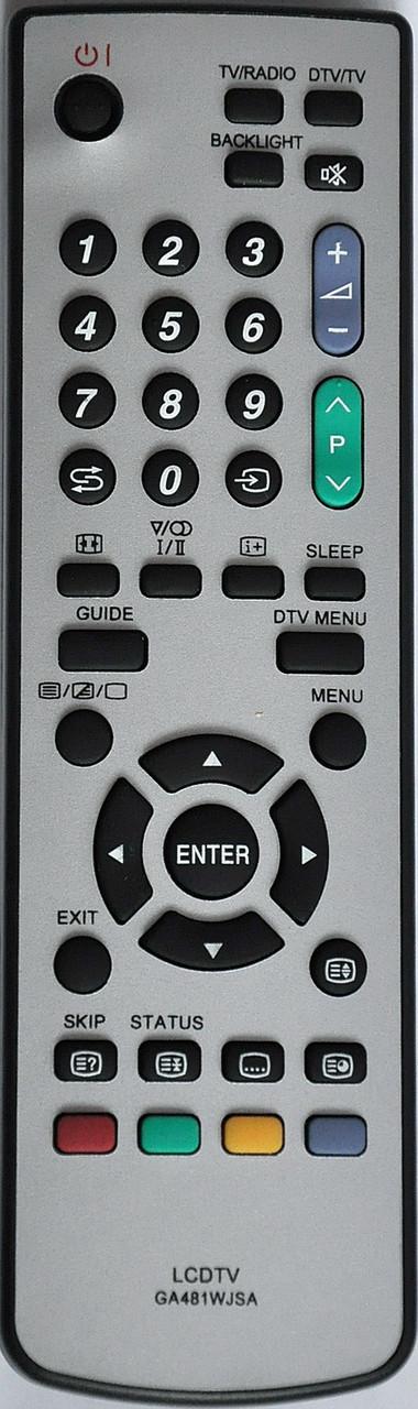 Пульт на телевизор SHARP. Модель GA481WJSA