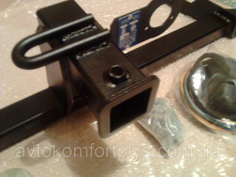 Швидкознімний фаркоп під квадрат вставку (ТСУ, тягово-зчіпний пристрій) VOLKSWAGEN TIGUAN (Тігуан)