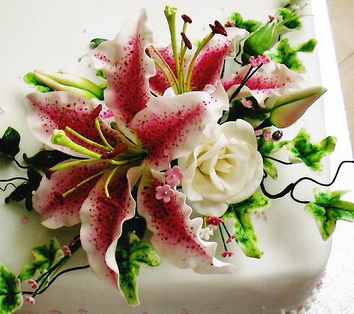 Сахарная мастика Bakels цветочная паста 1 кг