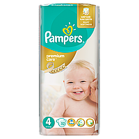 Подгузники Pampers Premium Care Размер 4 (Maxi) 8-14 кг 52 шт.