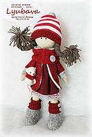 Авторская кукла новогодняя девочка