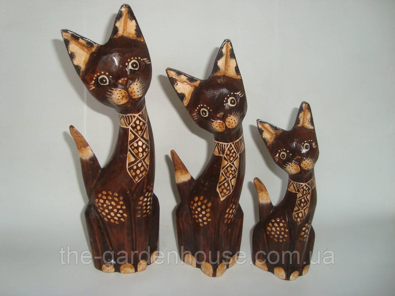 """Набор статуэток кошек """"Мечтатели"""" (30, 25 и 20 см)"""