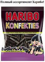 Желейные конфеты Лакричные Поленья Харибо Haribo 175гр.