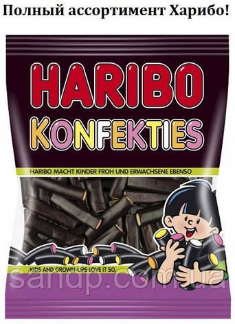 Желейные конфеты Лакричные Поленья Харибо Haribo 175гр., фото 2