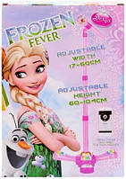 Детский микрофон со стойкой Frozen DS-001-1A