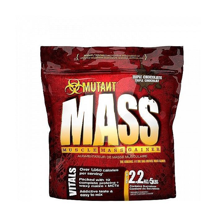 Гейнер PVL Mutant Mass 2,2 kg