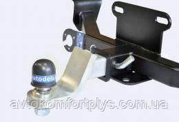 Швидкознімний фаркоп під квадрат вставку (ТСУ, тягово-зчіпний пристрій) VOLKSWAGEN TRANSPORTER T5