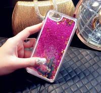 Чехол Liquid Glitter Series 2 IPHONE 7/8 (Hot Pink), фото 1