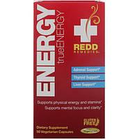 Redd Remedies, Энергия, TrueEnergy, 50 вегетарианских капсул
